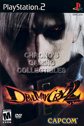 CGC Huge Poster - Devil May Cry 2 - BOX ART Sony Plastation