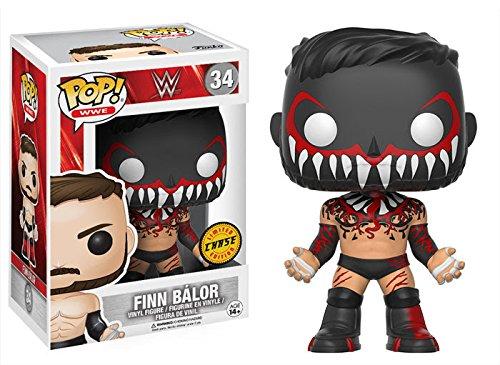 (Funko Pop! WWE Finn Balor CHASE VARIANT Vinyl Figure (Bundled with Pop BOX PROTECTOR CASE))