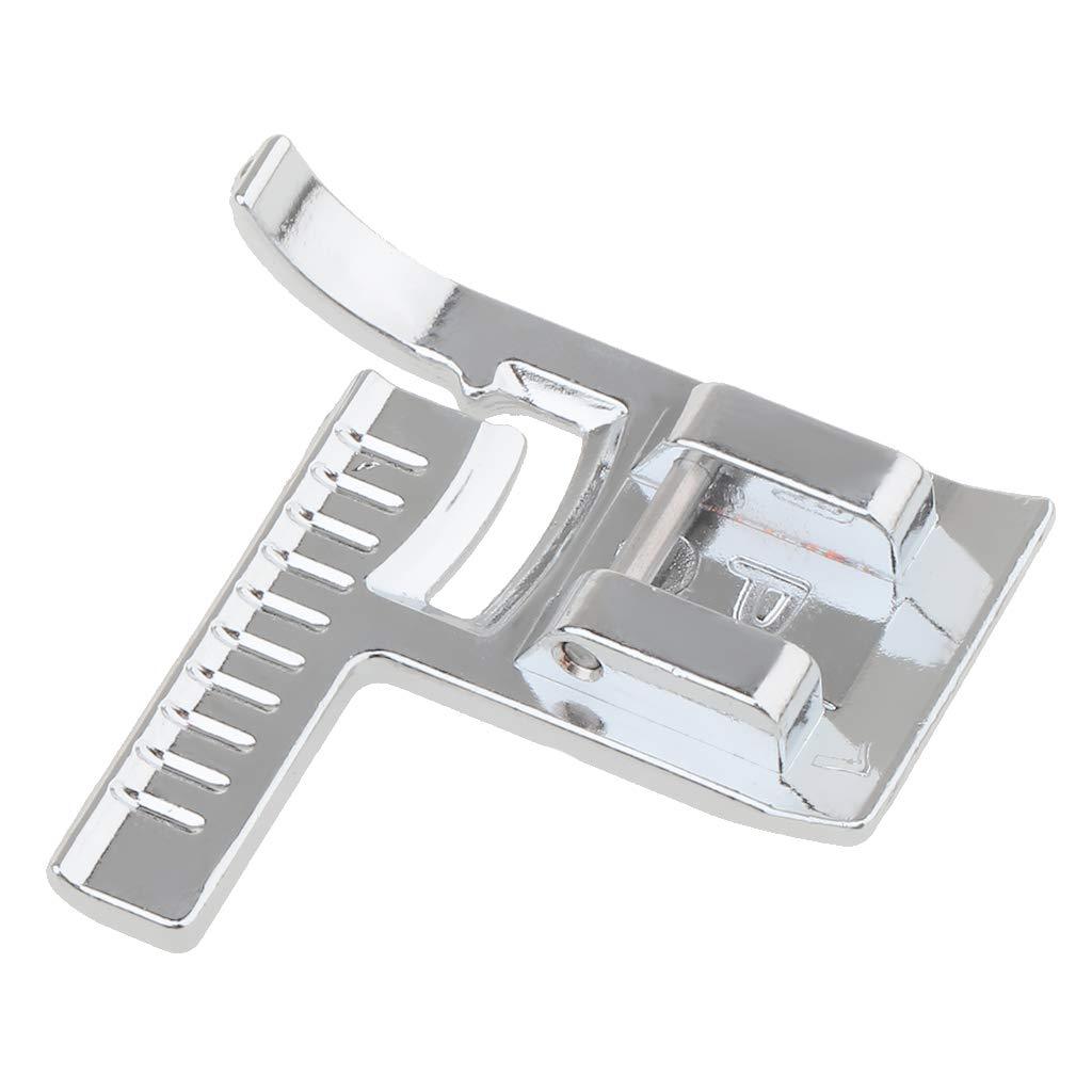 P Prettyia Pied Presseur Machine Domestique Acier Inoxydable Facile à Utiliser