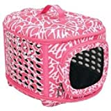 Petmate Curvations Luxury Pet Carrier, Small, Pink, My Pet Supplies
