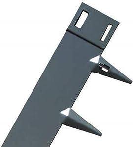 Core Edge Flexible Steel Lawn Edging Slate 4