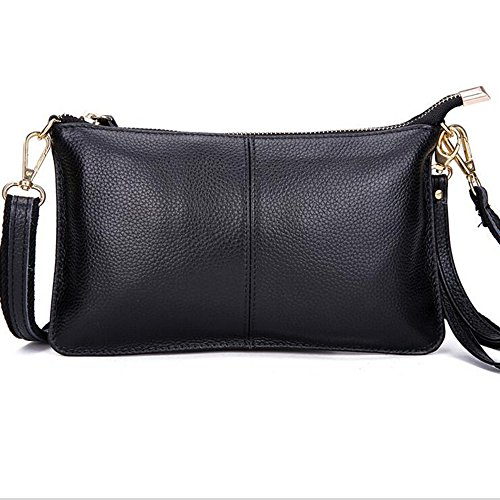 TOPSHINE leather Crossbody Bag for Women Fashion Small Wristlet Clutch Purse Phone Wallets