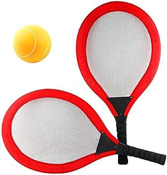 NUOBESTY Set de Tenis de bádminton Raqueta de bádminton Raqueta de ...