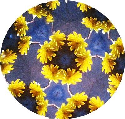 Kal/éidoscope//laiton poli//capture les couleurs des environnement Pendant un//11/cm