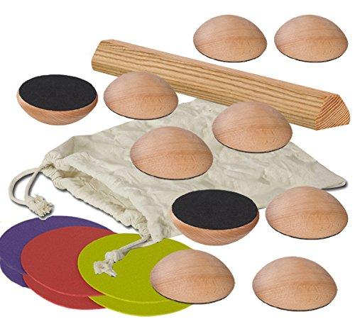 Pedalo® Balance-Steine Set 2 I Balancier Spiel I Balance Pfad I Kindergarten