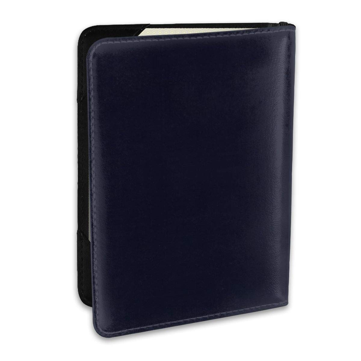 Lit Matchstick Shape Silhouette Fashion Leather Passport Holder Cover Case Travel Wallet 6.5 In