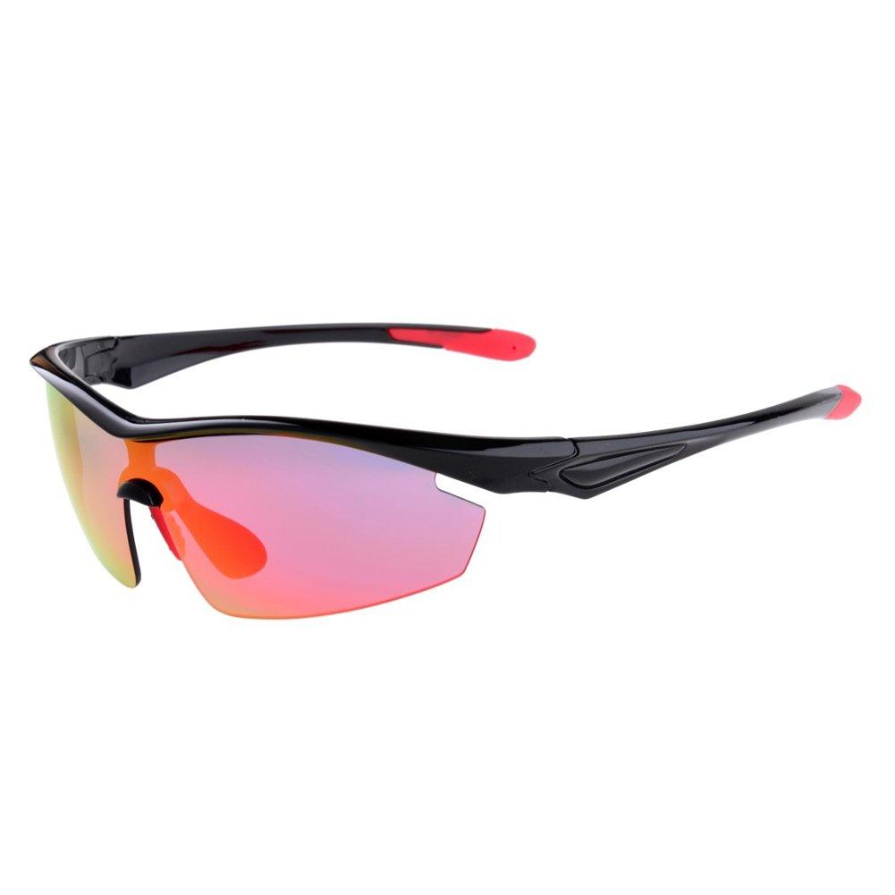 alloetファッションスポーツサングラス偏光サイクリングメガネユニセックスUVプルーフOurdoorスポーツサングラスゴーグル   B074RFLMMS
