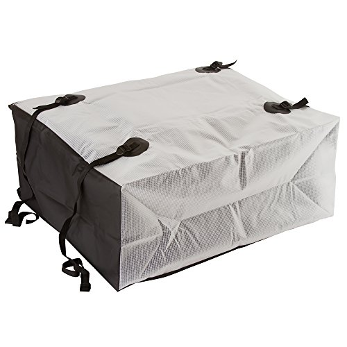 Rage Powersports RBG-08-2 Waterproof Roof Cargo Bag (10 cubic ft. Semi-Transparent with Black Accent)