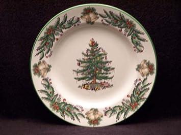 Spode Christmas Tree Garland Dinner Plates & Amazon.com | Spode Christmas Tree Garland Dinner Plates: Dinner Plates