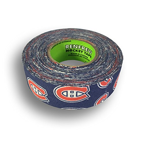 fan products of Renfrew, NHL Team Cloth Hockey Tape (Montreal Canadiens)