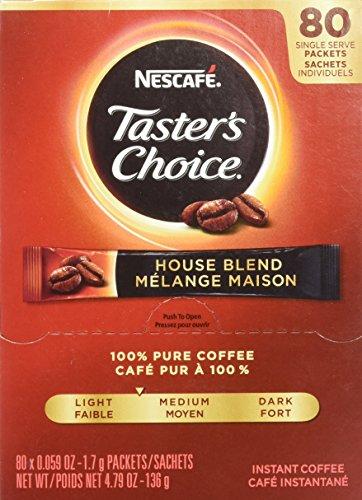 Premium Coffee Sticks - Coffee-mate Premium Instant-Coffee Single-Serve Sticks, Original Blend.06oz, 80/Box