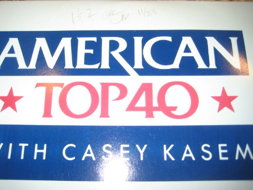 American Top 40, with Casey Kasem [11-24-84], Initialed by Casey Kasem
