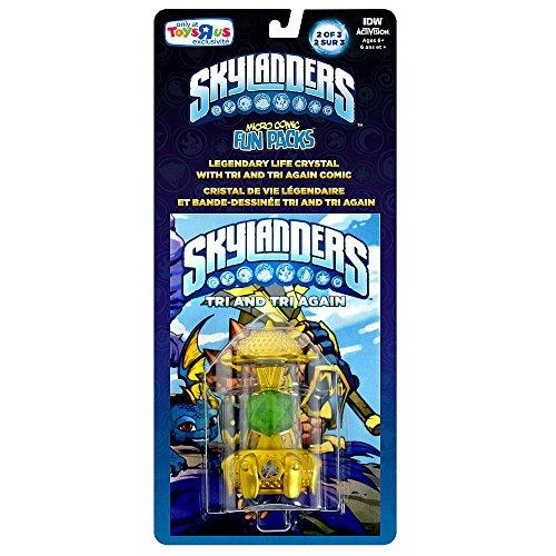 Skylanders Imaginators, Exclusive Micro Comic Fun Pack with Legendary Life Creation Crystal 2/3