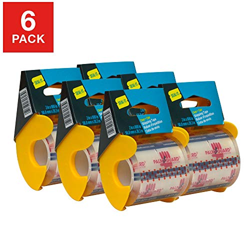 Seal-It Super Clear Shipping Tape on PalmGuard Dispenser Now $6.86 (Was $14.99)