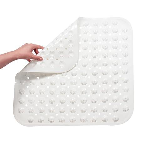 FHzytg Duschmatte Rutschfest Quadratisch, Duschmatten Dusche Rutschfest, Antirutschmatte Dusche Rutschmatte für Dusche, Antib