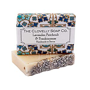 Clovelly Soap Co Handmade Lavender Patchouli &...