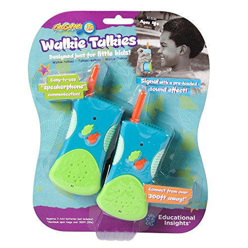 Educational Insights GeoSafari Jr. Walkie Talkies