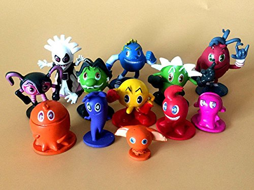 12pcs Pac-Man and the Ghostly Adventures action Figure, used for sale  Delivered anywhere in USA