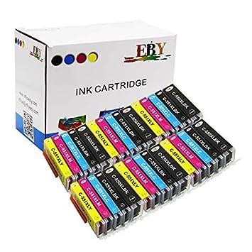 EBY 30 compatibles PGI-550 CLI-551 Cartuchos de Tinta para ...