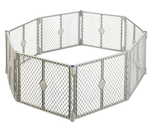 North States Classic Superyard Baby/Pet & Portable Play Yard – 8 Panel For Sale