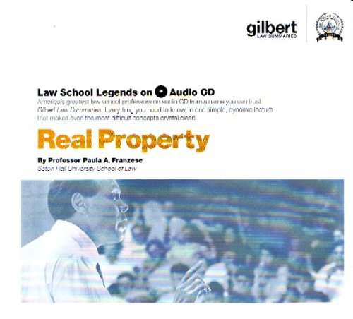 Real Property, 2005 ed. (Law School Legends Audio Series)