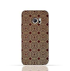 HTC 10 TPU Silicone Case With Arbesque Ottoman Pattern Design