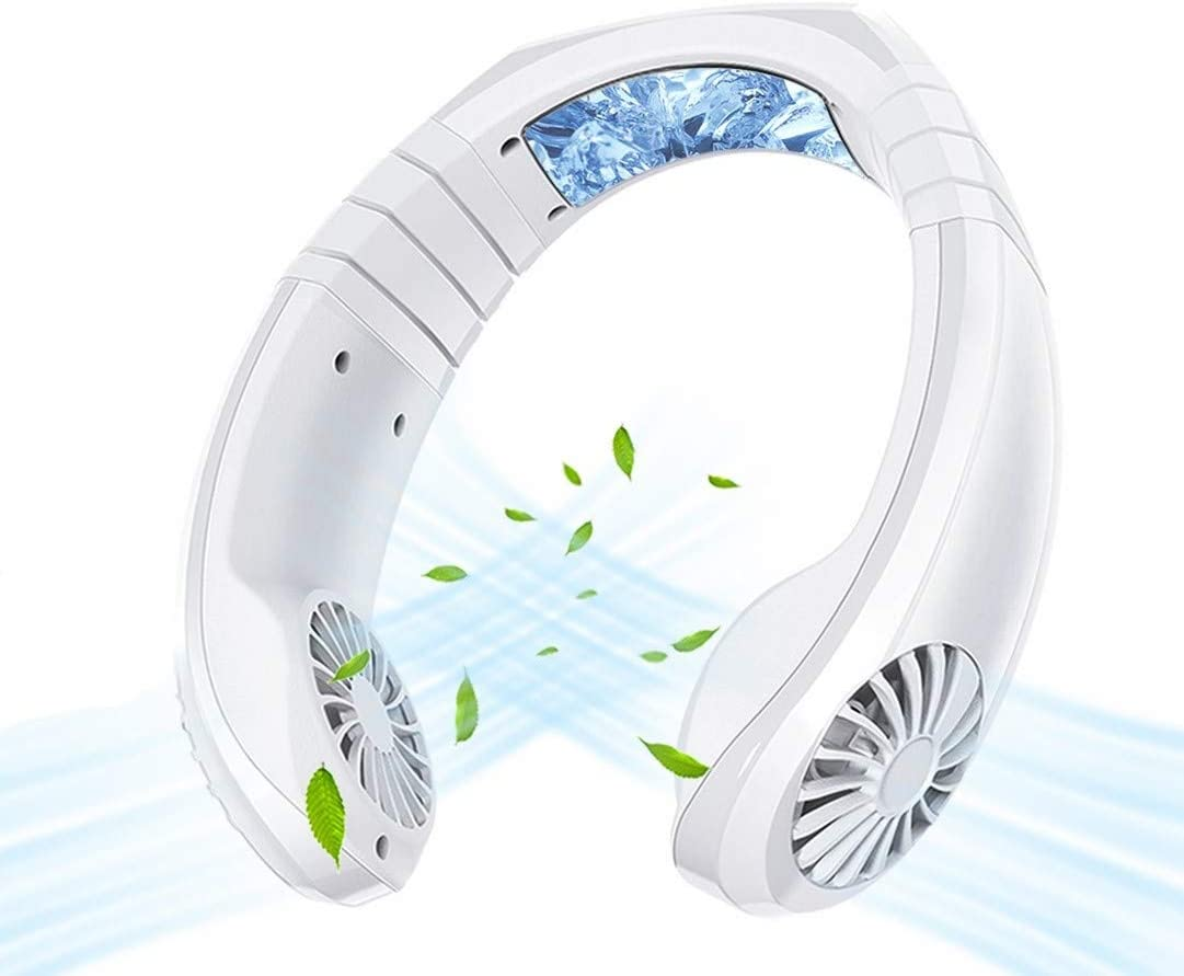 Portable Air Conditioner Mini Cooler Fan 3 Speeds Cooling System Necklace