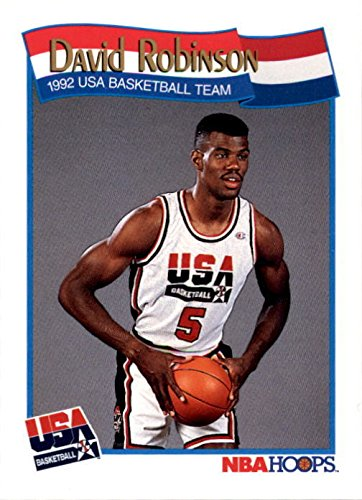 David Robinson Basketball Card (1992 USA Dream Team) 1991 Hoops #583