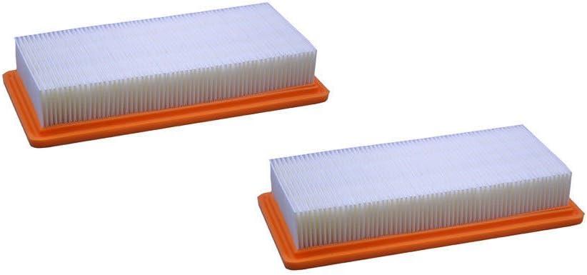 2pcs filtro de recambio HEPA 6.414 – 631.0 para Karcher DS5500 ds5600 DS 5.800 DS 6,000: Amazon.es: Coche y moto