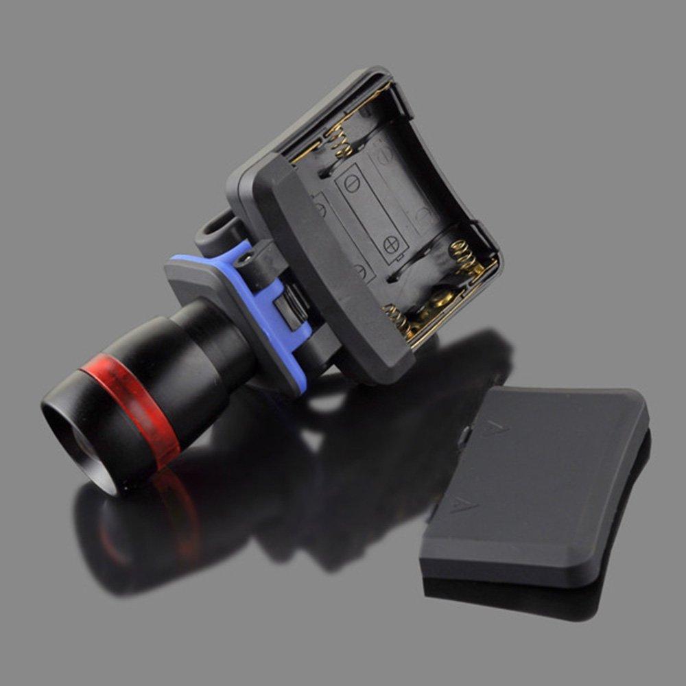 Lixada LED Luz 120 l/úmenes 3 modos impermeable Cap Sombrero Luz Faro