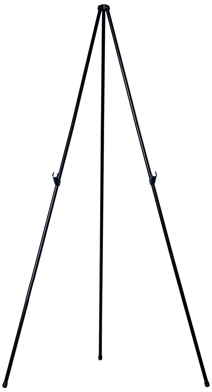 Bi-silque Visual Communication MasterVision Heavy Duty Instant Display Easel, Black Frame FLX10201MV