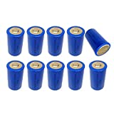 3.6V Lithium/SOCL2 Batteries c size model ER26500 d size battery model ER 34615 Count: (10pcs ER34615 )