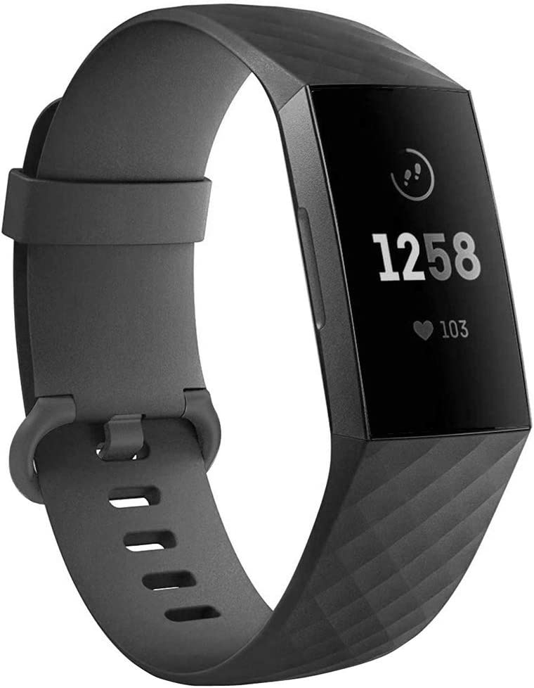 Replacement Wristbands for Fitbit Charge 3 SE and Fitbit Charge 4 Small, Black+Blue+Grey
