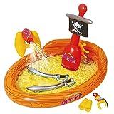 Ginzick Inflatable Super Fun Pirate Ship Spray Kiddie Pool