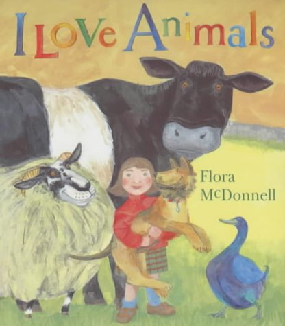 I Love Animals Book Chart - I Love Charts