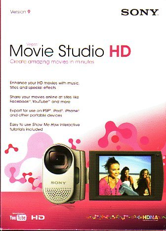 Vegas Movie Studio HD Version 9 (Youtube Video Editing Software compare prices)