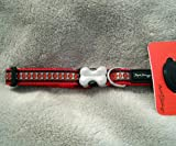 Red Dingo Reflective Dog Collar, Small 20-32Cm, Red Reflective