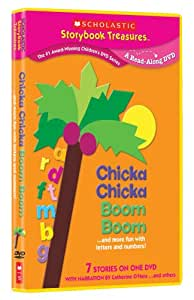 Chicka Chicka Boom Boom... and More Fun with Letters and Numbers (Scholastic Storybook Treasures)