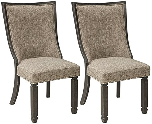 - Signature Design by Ashley D736-02 Tyler Creek Dining-Chair, Full Back