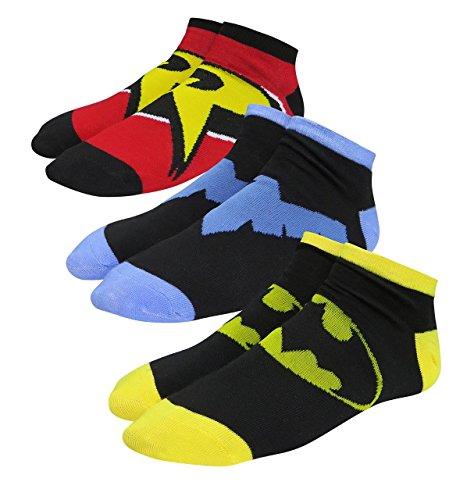 Batman Family Women's Low-Cut Sock 3-Pack]()