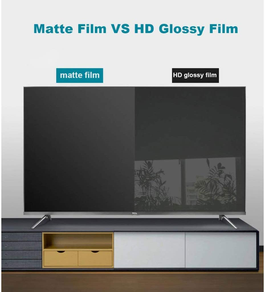 LCD Eye Protection Screen Protector Anti Blue Light Filter//Anti Scratch Film,40 inch LOOML Anti Glare TV Screen Protector
