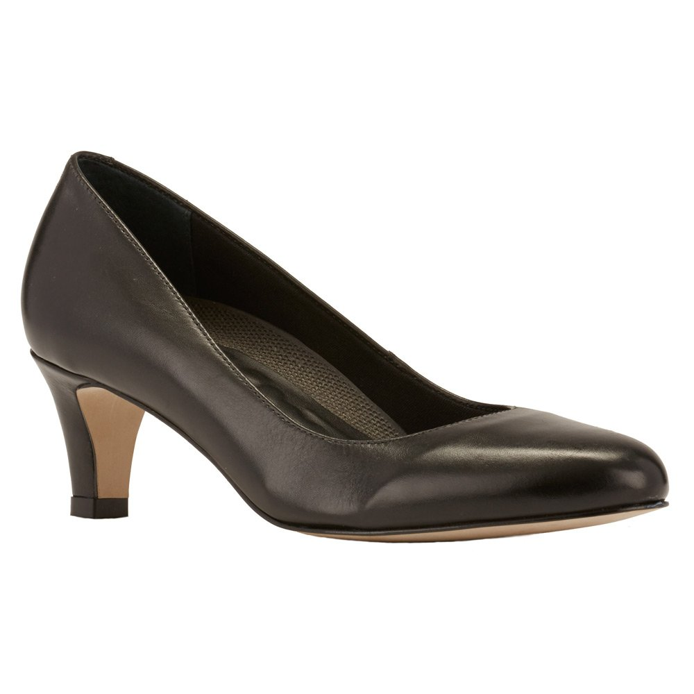 Black Cashmere Leather Walking Cradles Women's Pleasure Cognac Roughout Leather clogs-and-mules 7 N