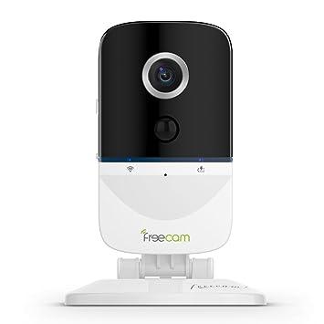 FREECAM Mini Baby Monitor-Cámara wifi inalámbrica con batería recargable Cámara de seguridad para el