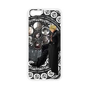 Claud Strife Final Fantasy iphone 6 Plus 5.5 Inch Cell Phone Case White Phone Accessories JV2088G5