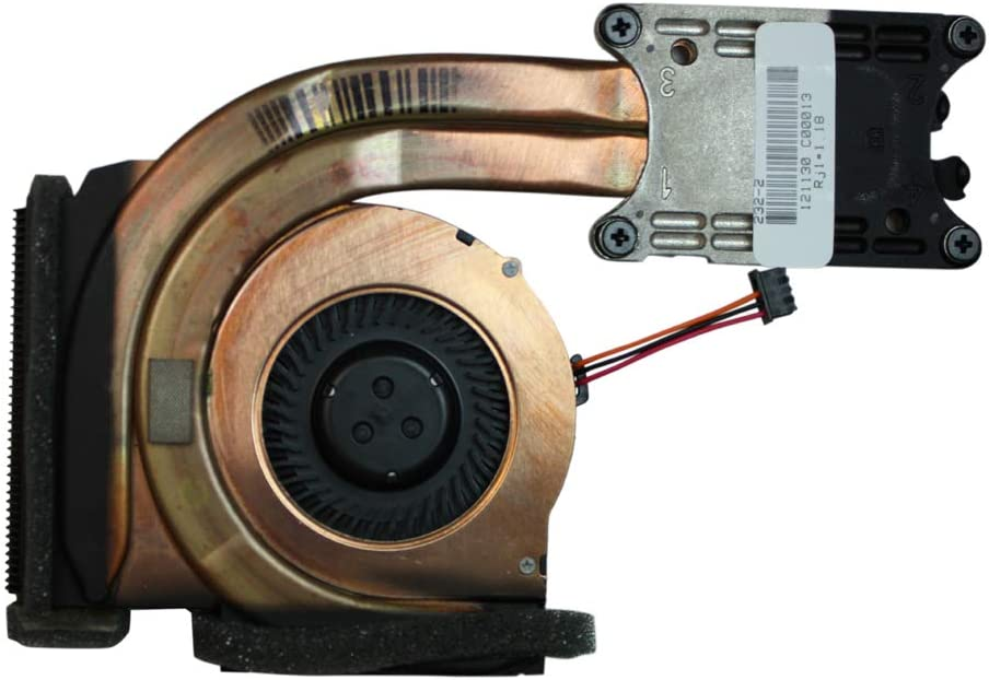 Power4Laptops Integrated Graphics Version Replacement Laptop Fan with Heatsink for Lenovo Thinkpad T420s