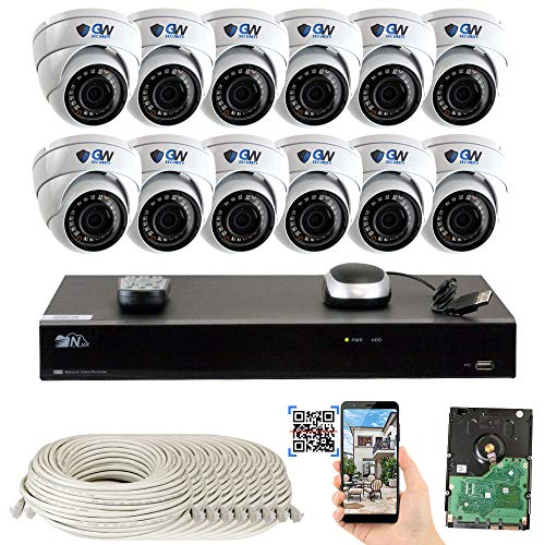 GW Security 16 Channel NVR 5 Megapixel H.265 Security Camera