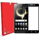 CASE U Lenovo K8 Note Full Coverage Tempered Glass Screen Protector - Black Rim
