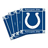 Boelter Brands NFL Indianapolis Colts 4-Pack Ceramic Coasters