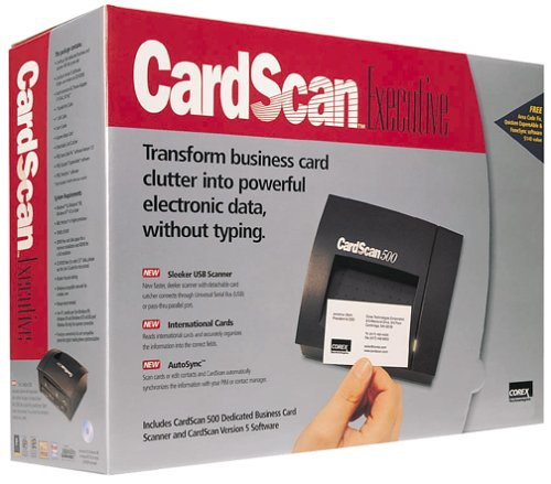 Corex CardScan Executive with Version 5.0 Software