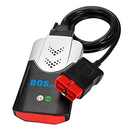 OBD2 Engine Diagnostic Tools for Cars and Trucks Black OBD II Reader Bosmutus OBD 2 Scanner with Bluetooth